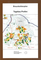 Deckblatt Braunkohleplan Tagebau Profen