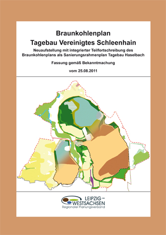 Deckblatt Braunkohleplan Tagebau Vereinigtes Schleenhain