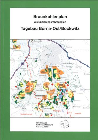 Deckblatt Braunkohleplan Tagebau Borna-Ost/Bockwitz