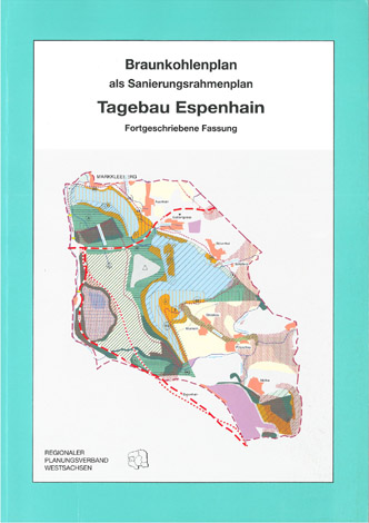 Deckblatt Braunkohleplan Tagebau Espenhain