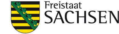 Logo - Freistaat Sachsen