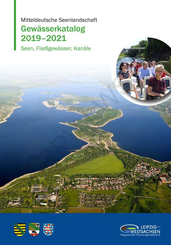 Cover des Gewässerkataloges 2015 - 2017