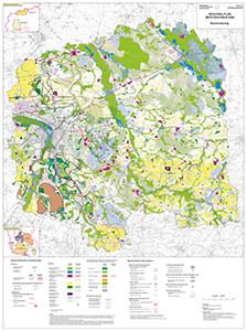 Raumnutzungskarte des Regionalplans Westsachsen 2008