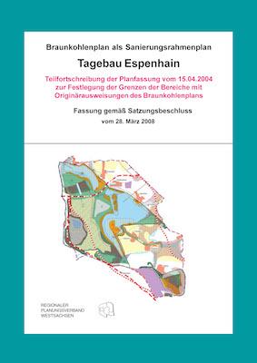 Teilfortschreibung Tagebau Espenhain - Cover
