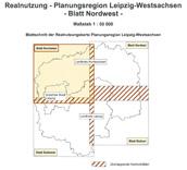 Realnutzungskarte Teil Nordwest