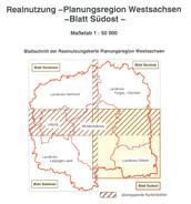 Realnutzungskarte Teil Südost